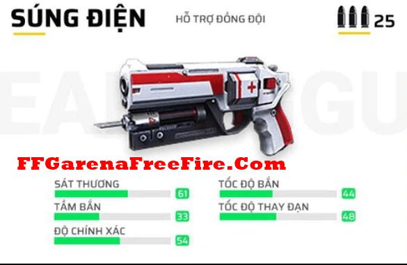 cách hồi máu cho nhân vật trong Free Fire