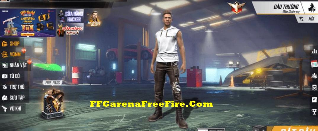 thay thế phụ kiện súng trong Free Fire