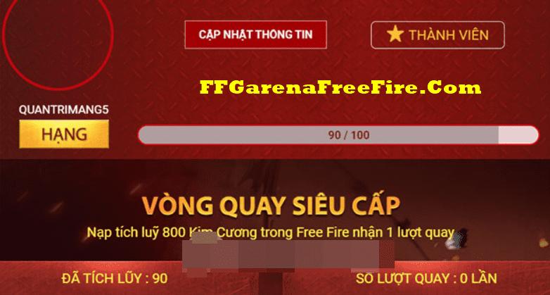Cách nhận quà Free Fire Membership