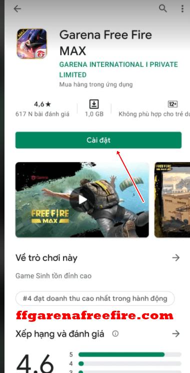 Cách tải Free Fire MAX miễn phí