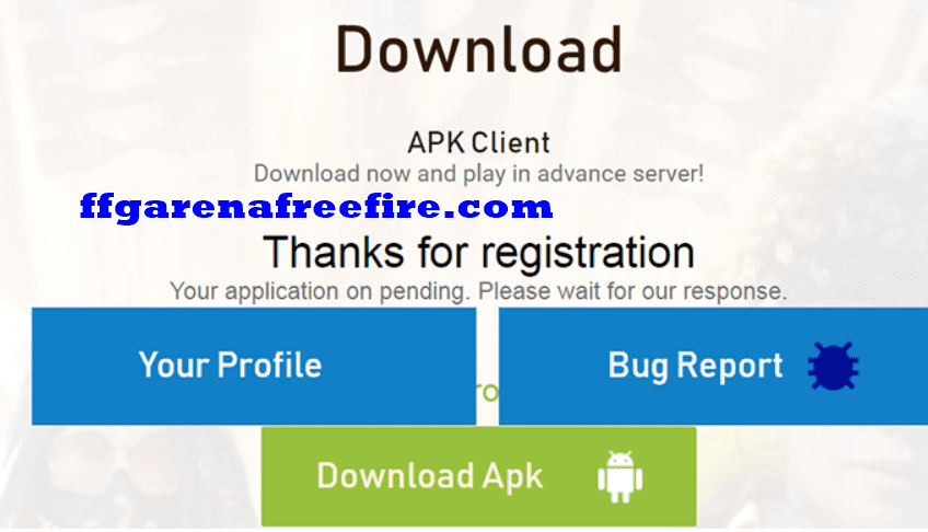 Tải free fire thử nghiệm (test)